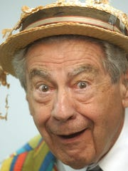 "Hal Fryar as ""Grandpa Harlow,"" his somewhat-less-wacky"