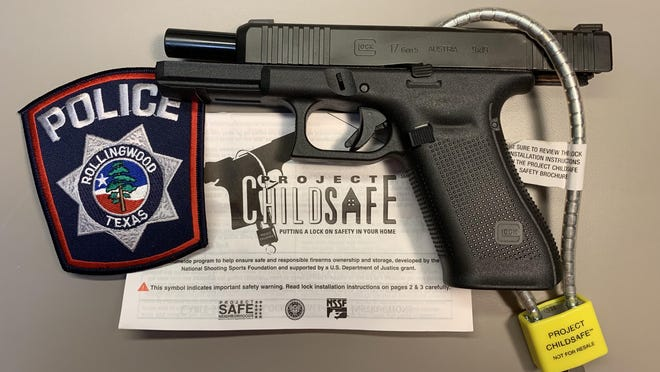 Last week, the Rollingwood Police Department teamed up with Project ChildSafe, a national organization, to distribute gun locks  to Central Texans.