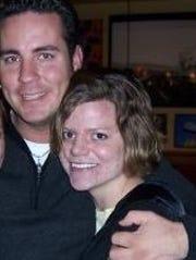 Bradley Czech with Teresa Halbach