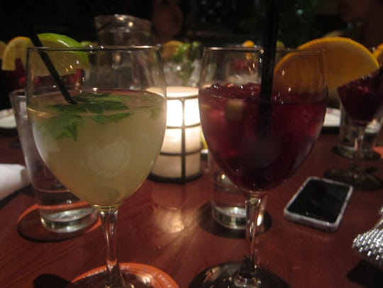 White and Red Sangria get along famously at Cuba Libre