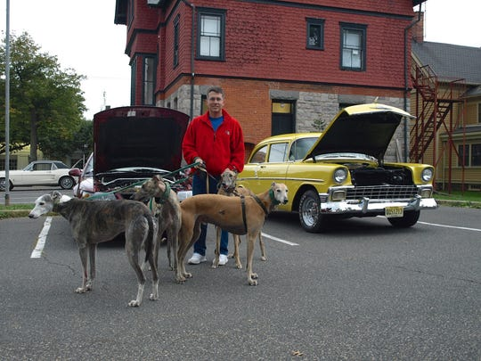 The New Jersey Greyhound Adoption Program (NJGAP) will host a Meet & Greet from 6 to 7:30 p.m. Saturday, June 10, at Barkley's Gourmet Marketplace at 79 Main St., Flemington, during the Flemington Classic Car Show.