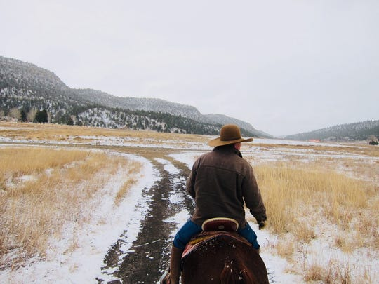 Exploring on horseback