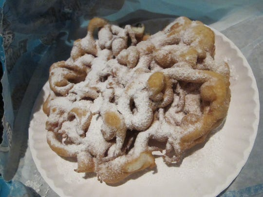A tried and true classic -- funnel cake.