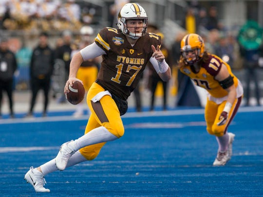 5. Denver Broncos: QB Josh Allen, Wyoming - GM John Elway knows big arms when he sees one, and Allen has the biggest arm in the draft.