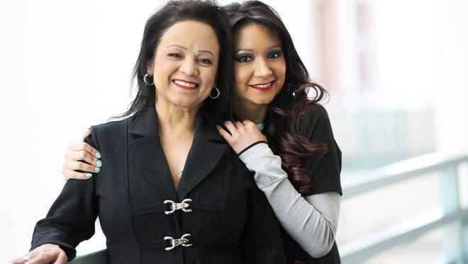 Isabel Aguirre, right, donated a kidney to her mother, Sally Ortega, 12 years ago. She was inspired to change her major at the University of Texas at El Paso to nursing and is now clinical coordinator for living donors at the Las Palmas Kidney Transplant Center.