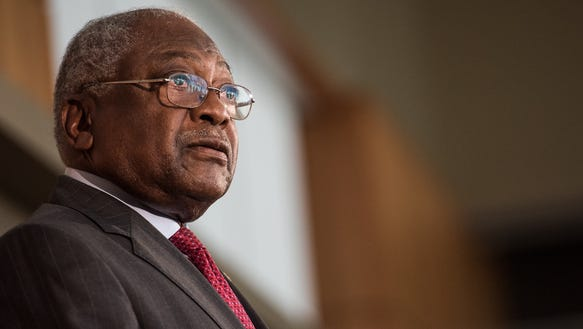 Rep. Jim Clyburn speaks at the University of South