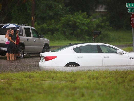 Severe flooding plagued Cape Coral and most of Southwest