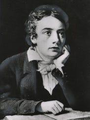Poet John Keats.