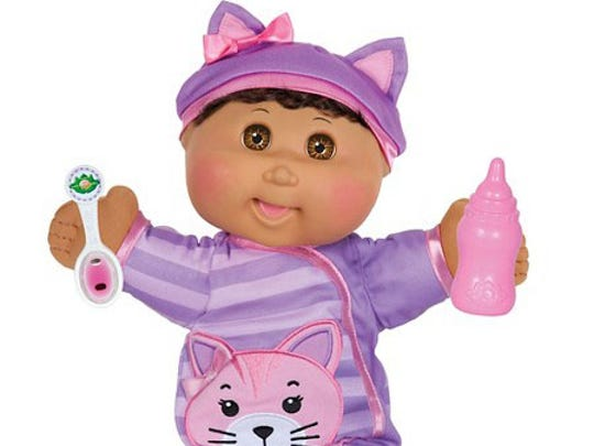 Cabbage Patch Kids Baby So Real has random sounds and reactions just like a real baby.
