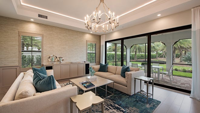 Clive Daniel Home has completed the Messina II coach home model in Corsica at Talis Park.