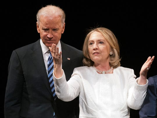 Vice President Biden and former secretary of State