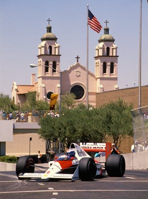 From 1989 to 1991, the Formula One racing circuit came to Phoenix in what was known as the Phoenix Grand Prix. The street race took place thru downtown Phoenix.