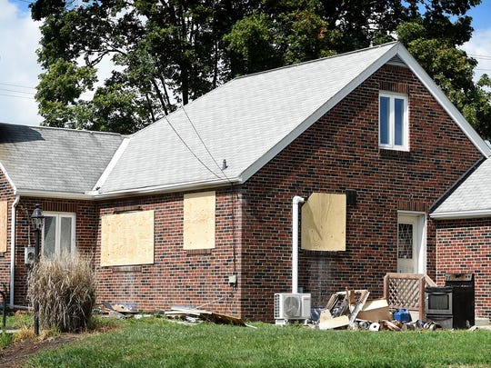 Spontaneous combustion of oily rags was blamed for a fire that caused substantial damage to the kitchen at 110 S. Forge Road in Palmyra Friday, Aug. 16. The house is being remodeled.