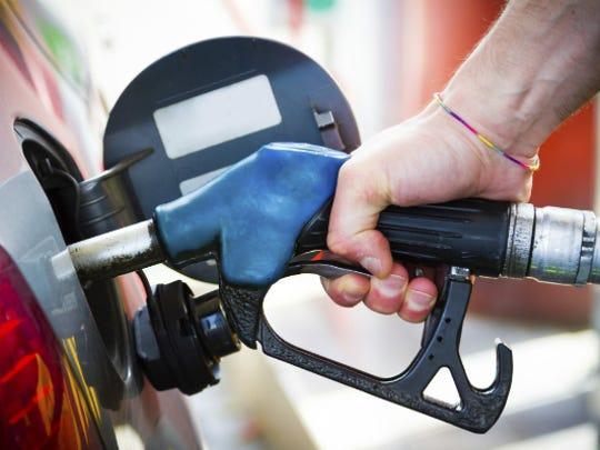 A gas pump