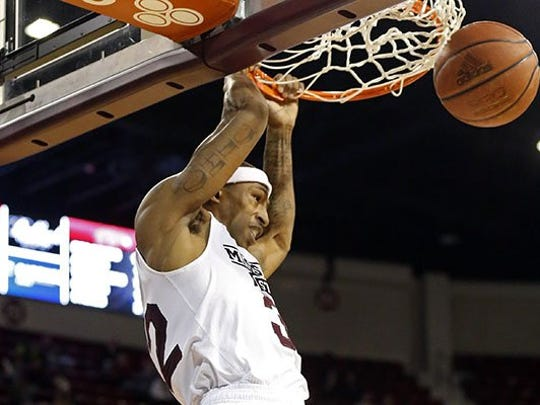 Montgomery native Craig Sword is averaging 12.4 points in his senior season at Mississippi State.