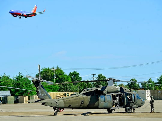 The 1-230th Air Cavalry Squadron moved its UH-60 Black
