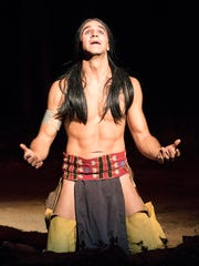 Tecumseh actor Matt Nelson was slated to make his third appearance as Tecumseh for this year's production.