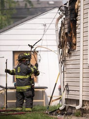 Beech Grove and Indianapolis Fire Department gave assistance were not able to save a 2-year-old girl in a back apartment.
