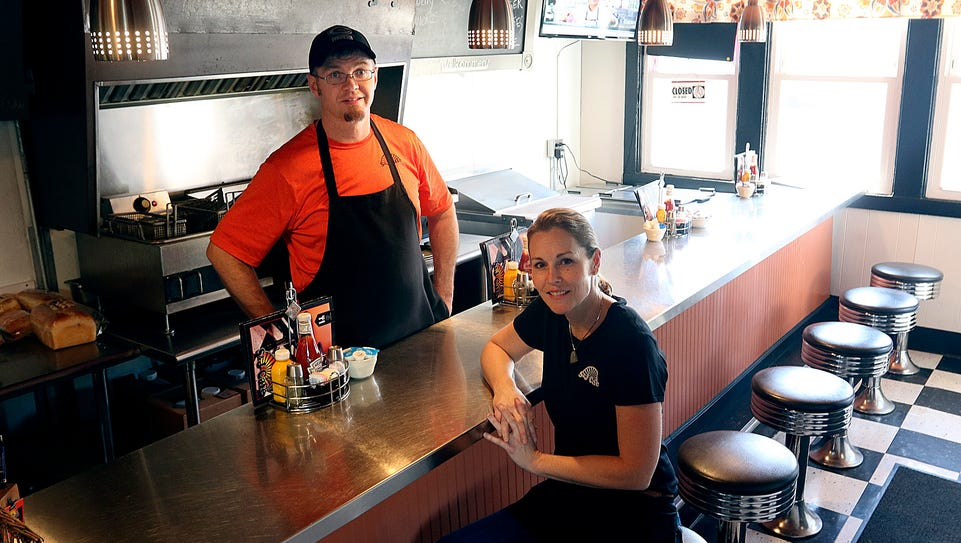 Scott and Jennifer Ames own and operate S&J Cafe in