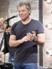 Jon Bon Jovi attends the Jon Bon Jovi & Kenneth Cole Curated Acoustic Concert - Mercedes-Benz Fashion Week Fall 2015 at the Kenneth Cole Soho Store on February 12, 2015 in New York City.