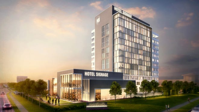 The Renaissance by Marriott hotel will be developed at a vacant office building at Mayfair mall, in Wauwatosa.