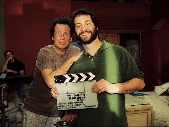 "Garry Shandling and Judd Apatow are seen in ""The Zen"