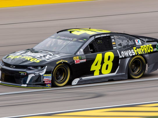 Jimmie Johnson's No. 48 has taken many NASCAR Cup Series