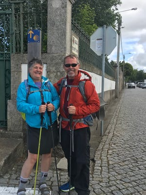 Morgan joins Jerry and me for the 156.4 mile inland leg to Santiago