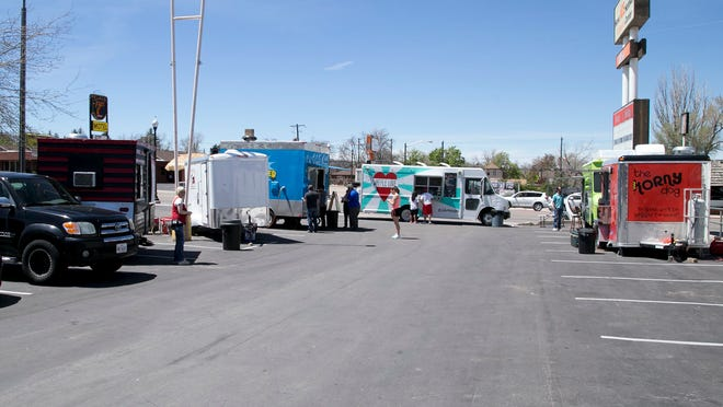 The Truck Roundup meets every Wednesday in the Ace Hardware parking lot.
