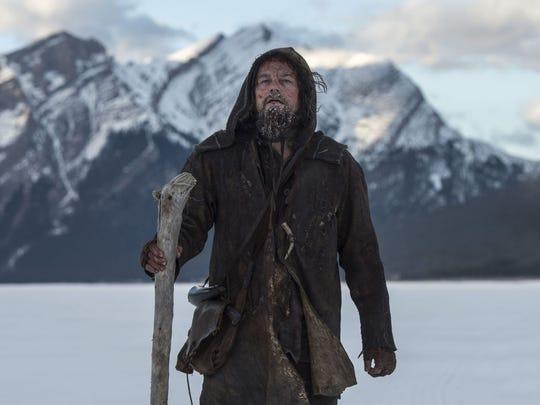 """Leonardo DiCaprio in the movie """"The Revenant."""""""