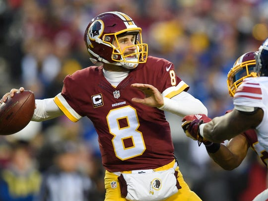 Quarterback Kirk Cousins could hit the open market if Washington doesn't put the franchise tag on him. (AP Photo/Nick Wass)