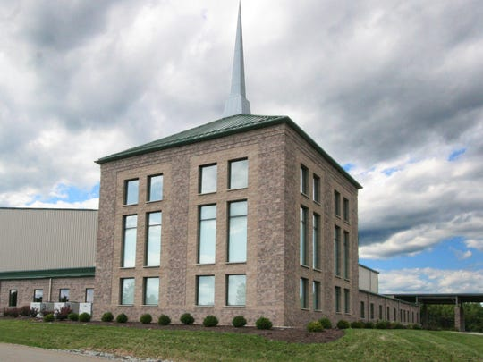 The First Baptist Church of Johnson City is located