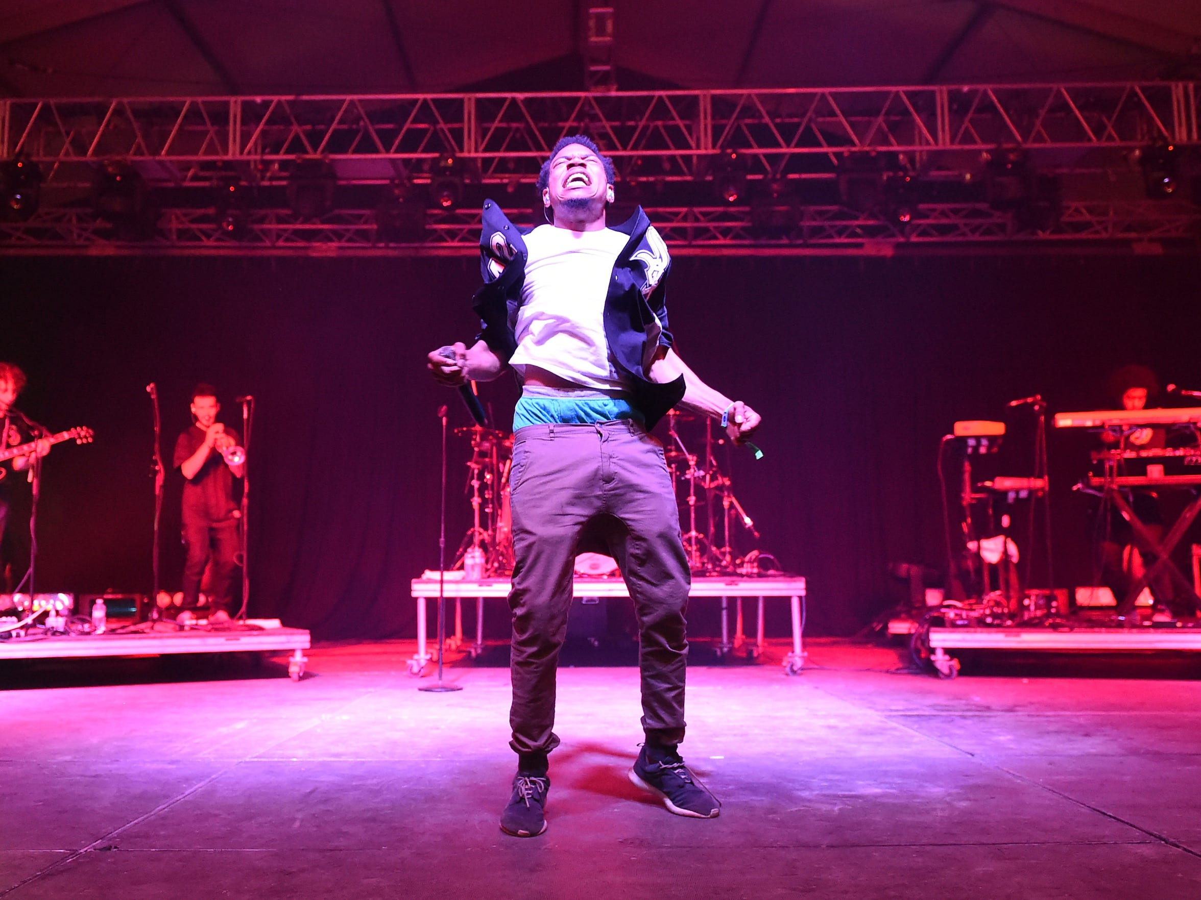 Chance The Rapper performs at the Bonnaroo Music & Arts Festival on June 13, 2014.