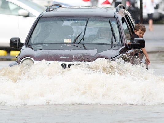 Flooding in Roanoke