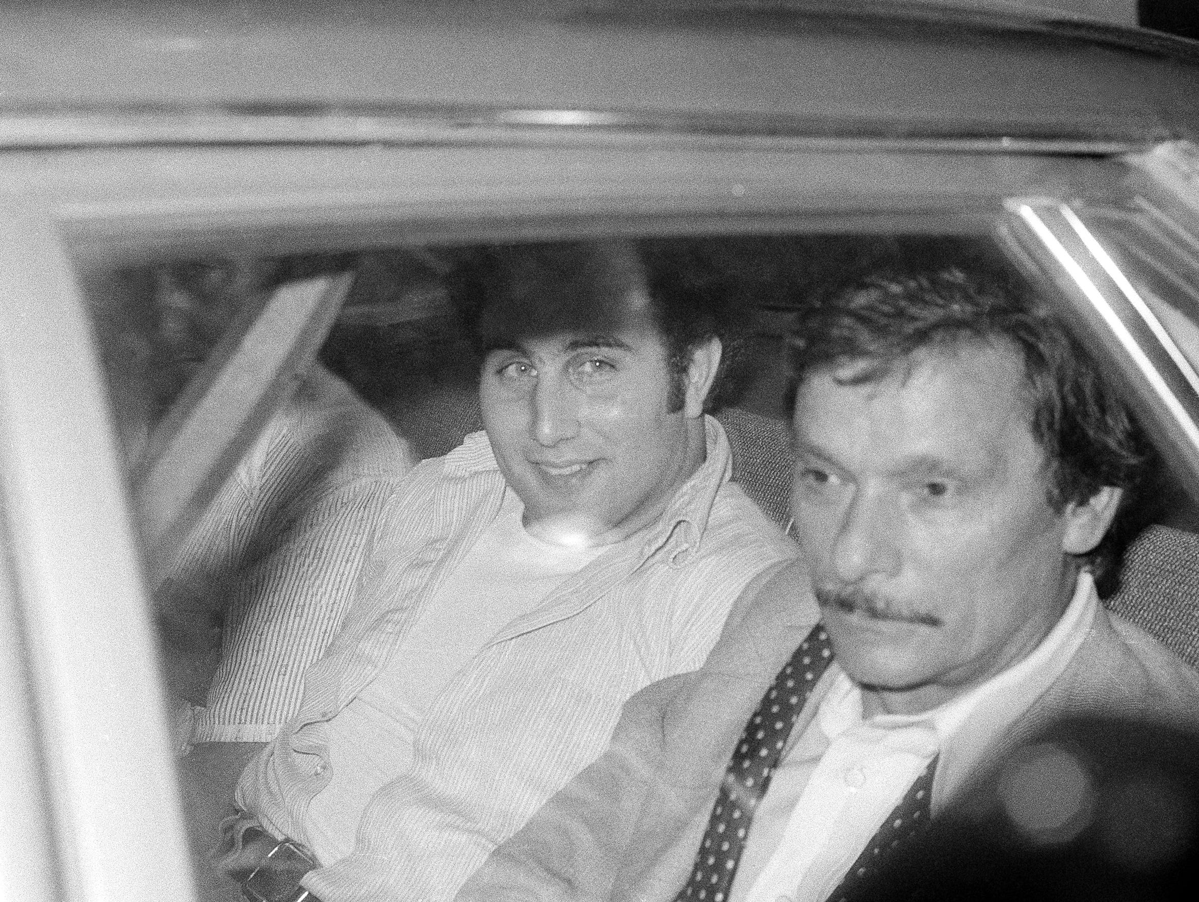 Son of Sam, David Berkowitz in an undated photo. (AP