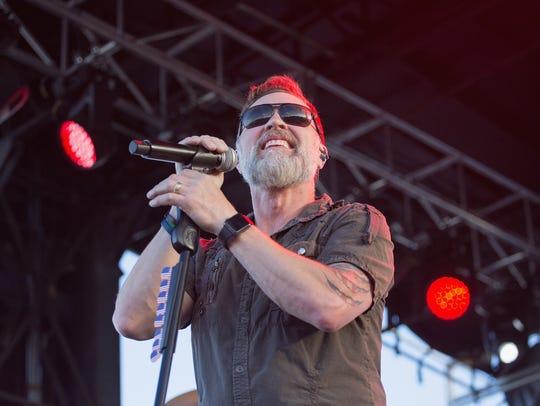Craig Morgan performed at BaseFest at Fort Bliss.