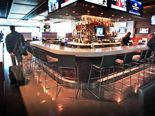 The High Velocity Sports Bar, within the JW Marriott,