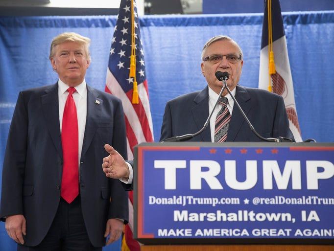 Donald Trump and Joe Arpaio