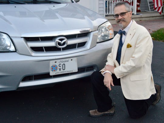 Jay Barringer, 51, of Eldersburg, Md., is commander