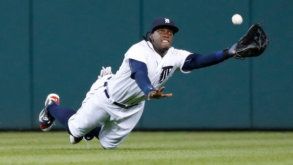 Roberson alum Cameron Maybin was traded from the Detroit Tigers to the Los Angeles Angels on Thursday.
