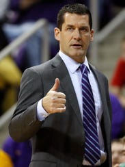 Northern Iowa coach Ben Jacobson and the Panthers picked