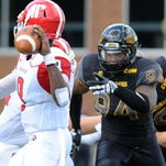 Southern Miss' Dylan Bradley is one of two returning starters along the defensive line for the Golden Eagles in 2016.