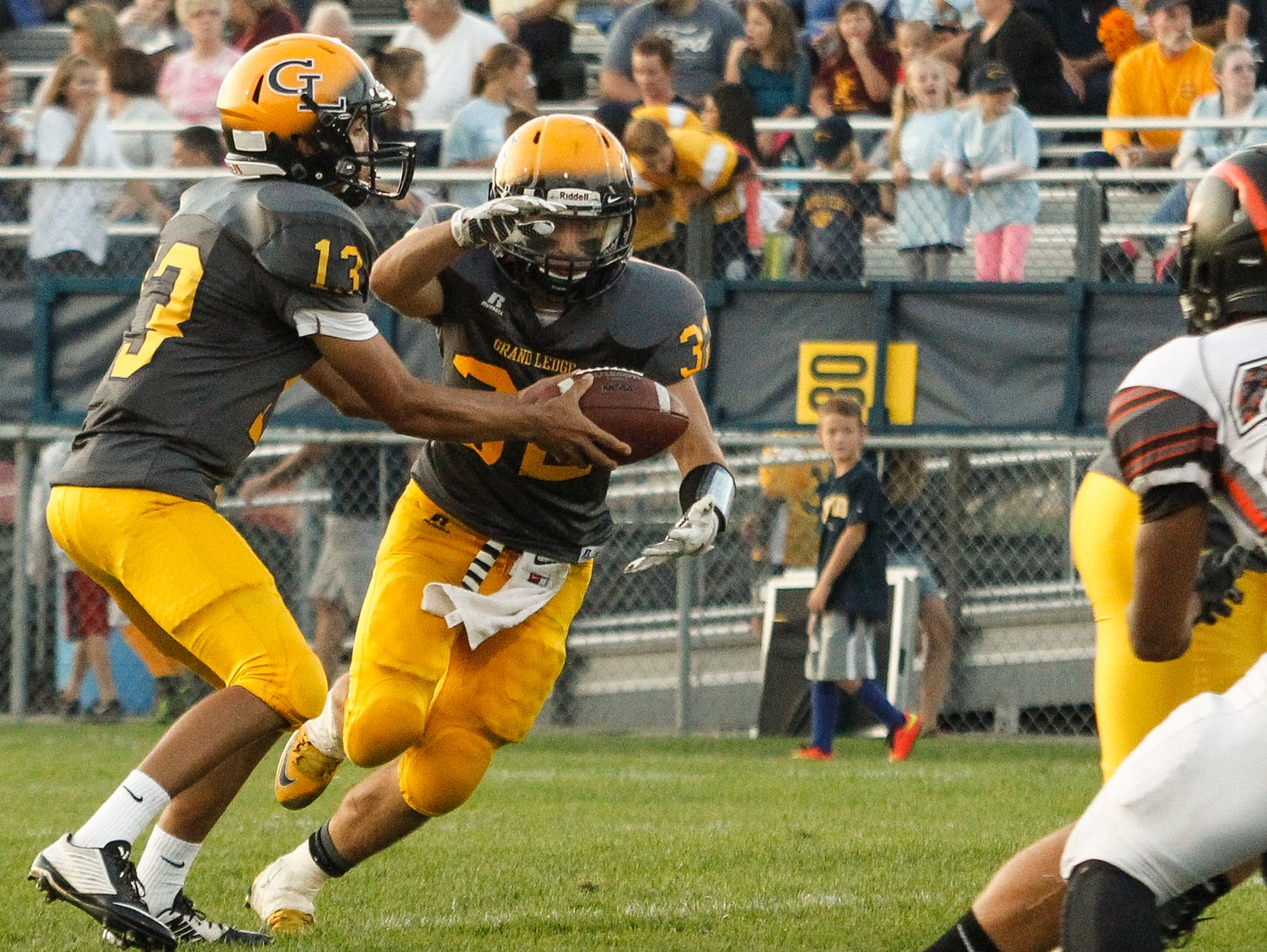 Nolan Bird, Caden Evert and unbeaten Grand Ledge are up to No. 6 in Division 1 in this week's AP football poll.