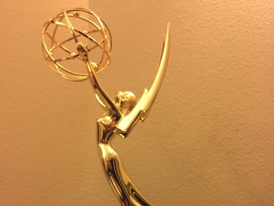 Blake Anthony received this 2015 Sports Emmy Award