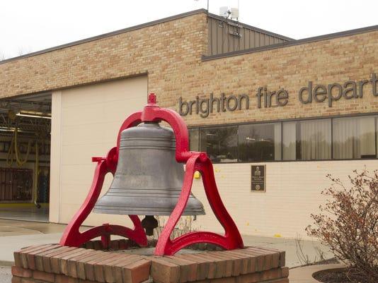 Brighton fire exterior