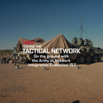 Testing Tactical Networks