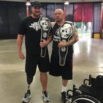 Post-amputation, Visalia Man becomes champion strongman