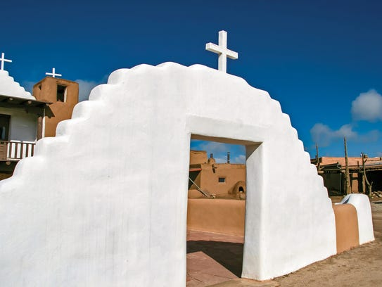 San Geronimo Chapel in Taos, N.M.