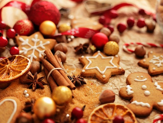 Gingerbread cookies are a popular treat during the