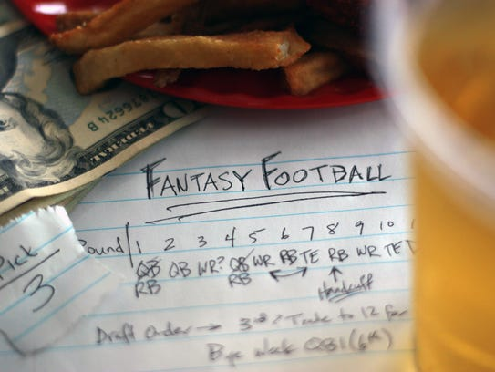 Don't forget. Money earned from fantasy sports needs
